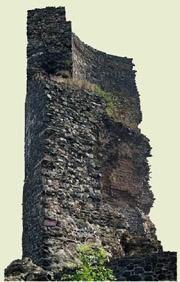 Foto des Bergfrieds